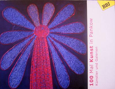 100 Mal Kunst in Pankow - Katalog mit Künstlern u.a. mit Ariane Zuber