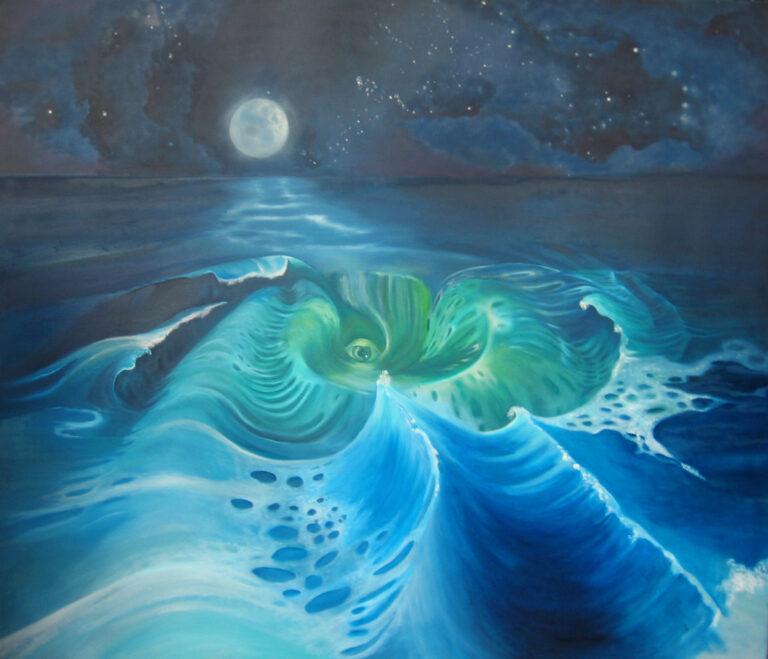 Des Meeres Wesen - Ariane Zuber, Gemälde