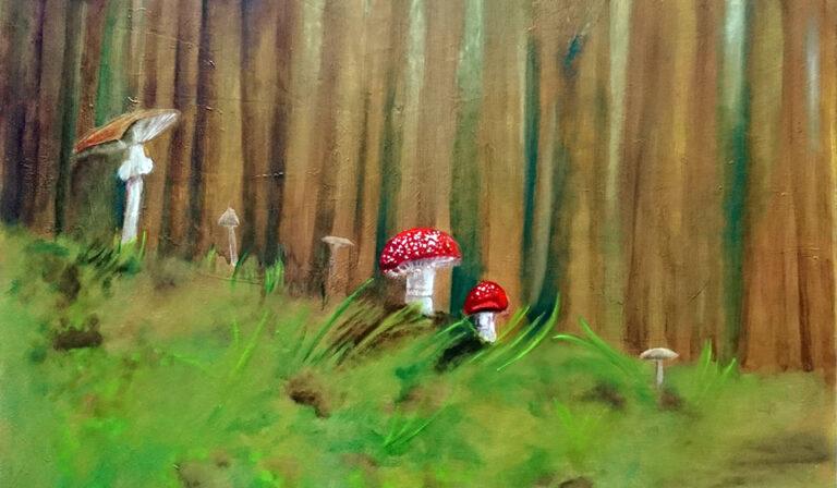 Waldspaziergang, Ariane Zuber