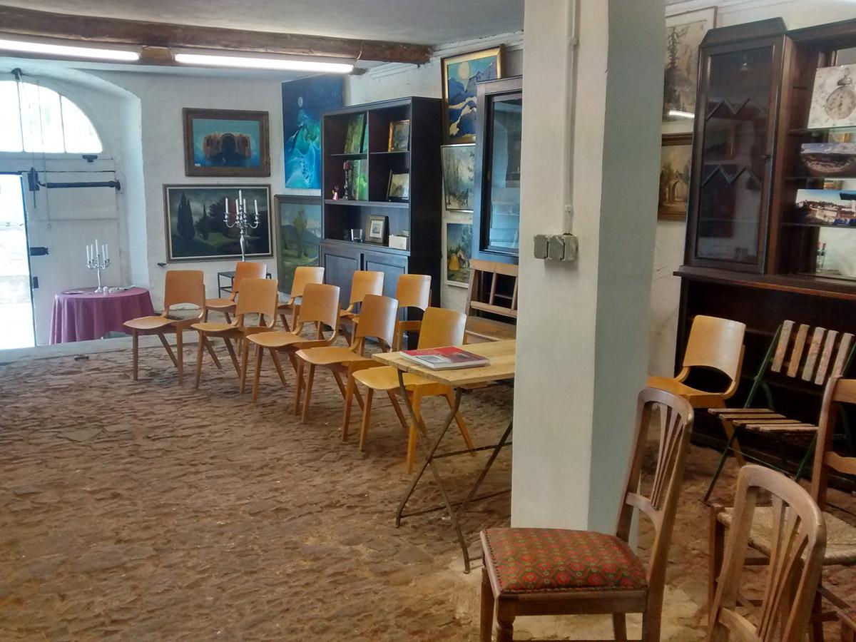 Atelier Ariane Zuber in Erwartung der Besucher