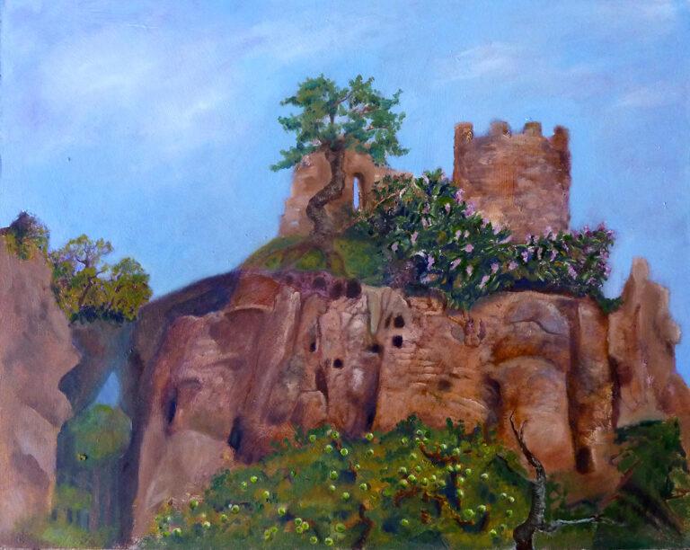 Ariane Zuber: Gemaelde Gefuehlte Landschaft