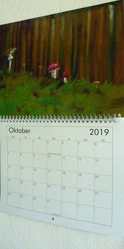 Kalender Ariane Zuber 2019