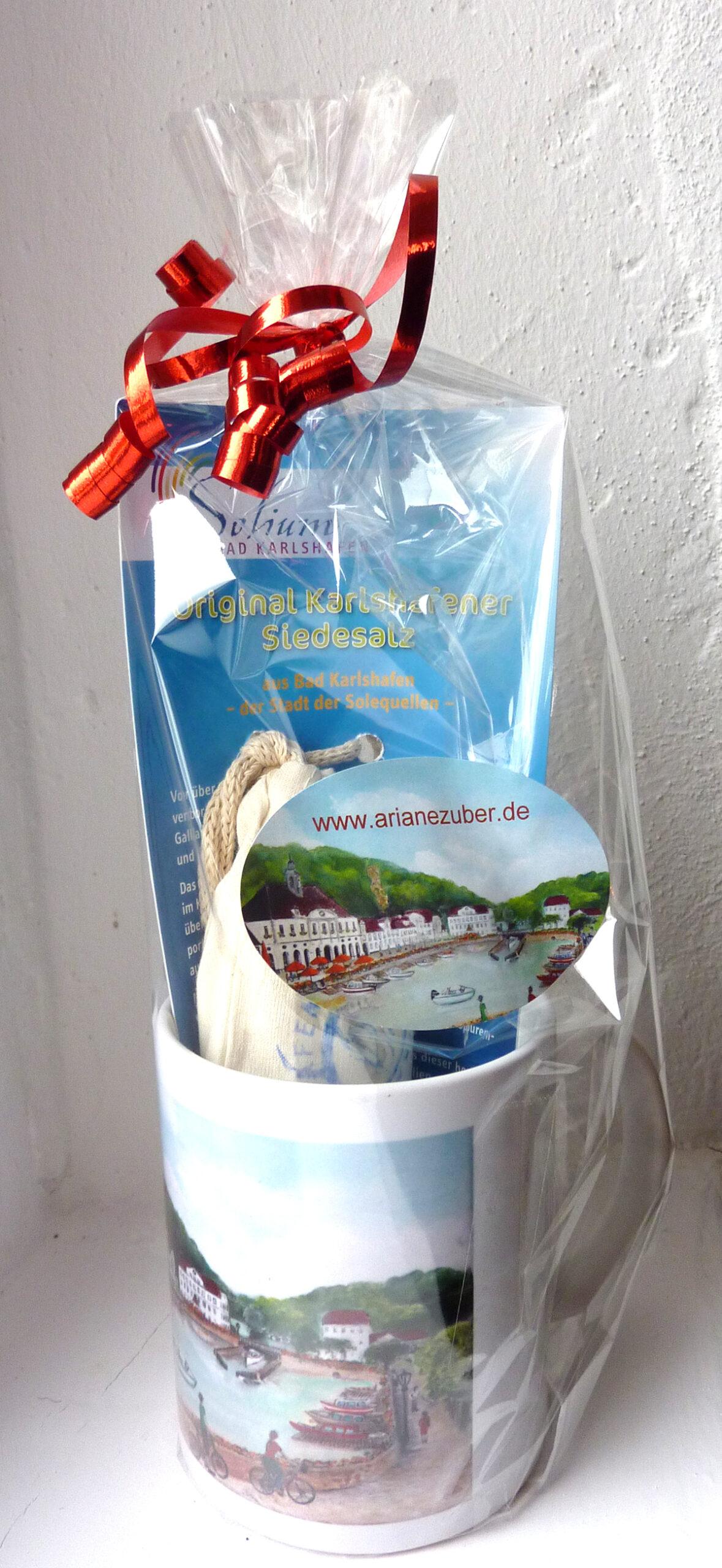 Souvenir-Tasse Bad Karlshafen von Ariane Zuber