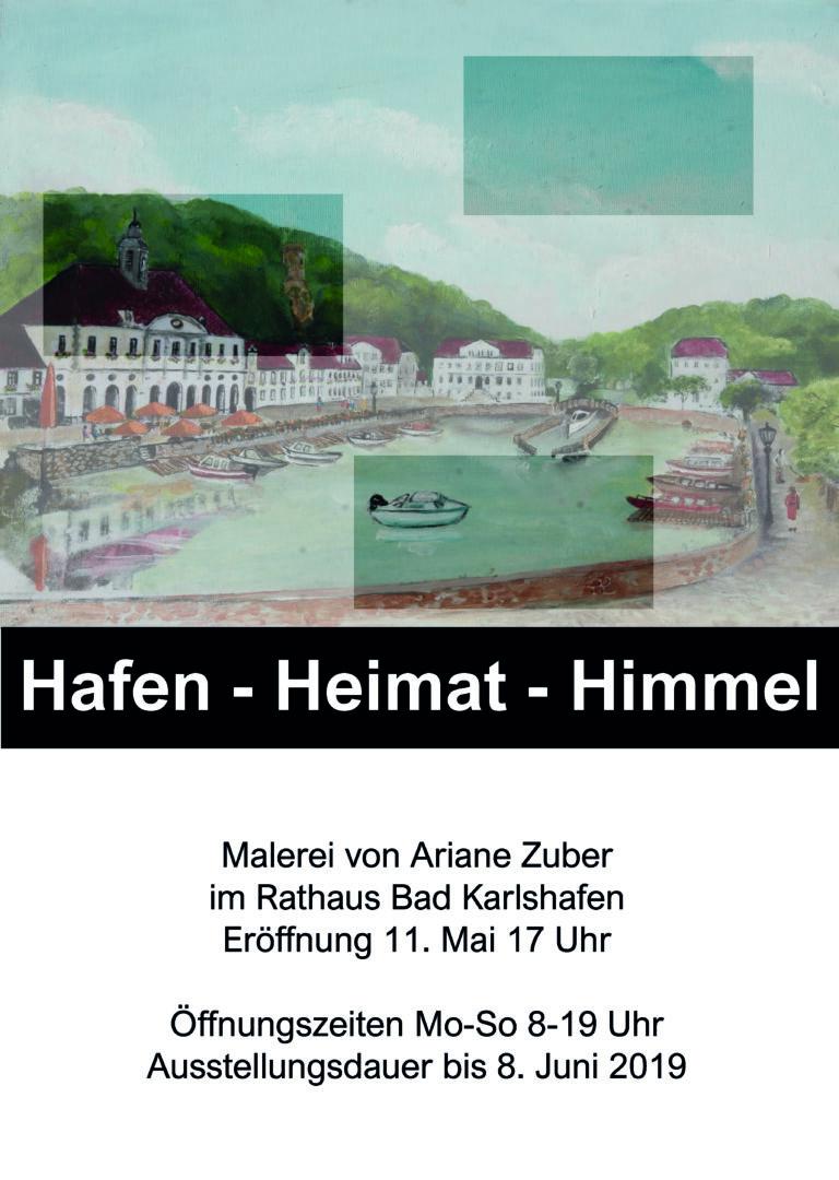 Ausstellung Malerei Ariane Zuber, Bad Karlshafen