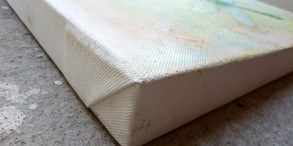 Schillernde Libelle, Ariane Zuber, Öl auf Leinwand, 30x40 cm