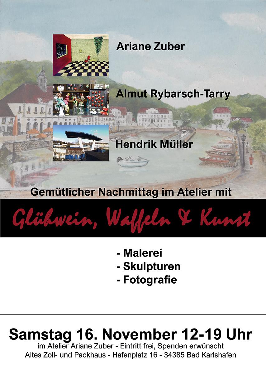 Fest im Atelier Ariane Zuber, Bad Karlshafen