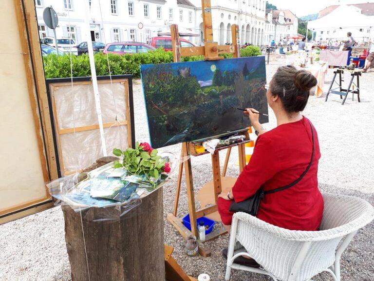 Ariane Zuber, Künstlerin in Bad Karlshafen