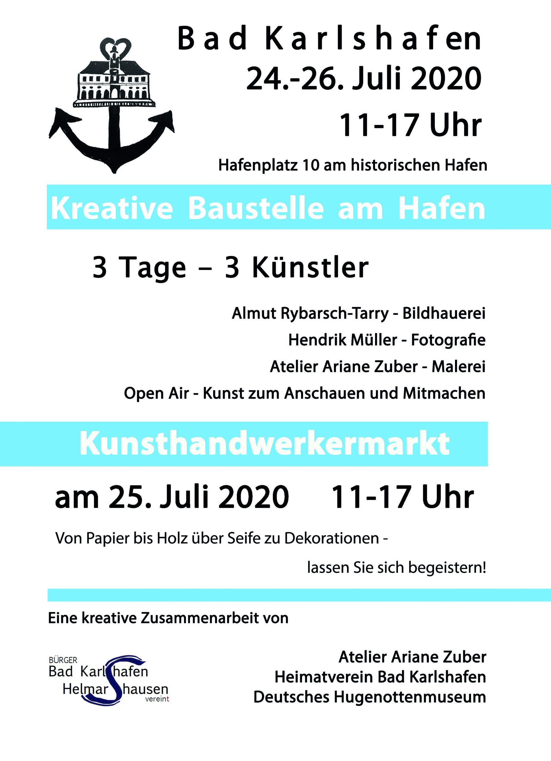 Kreative Baustelle Bad KArlshafen