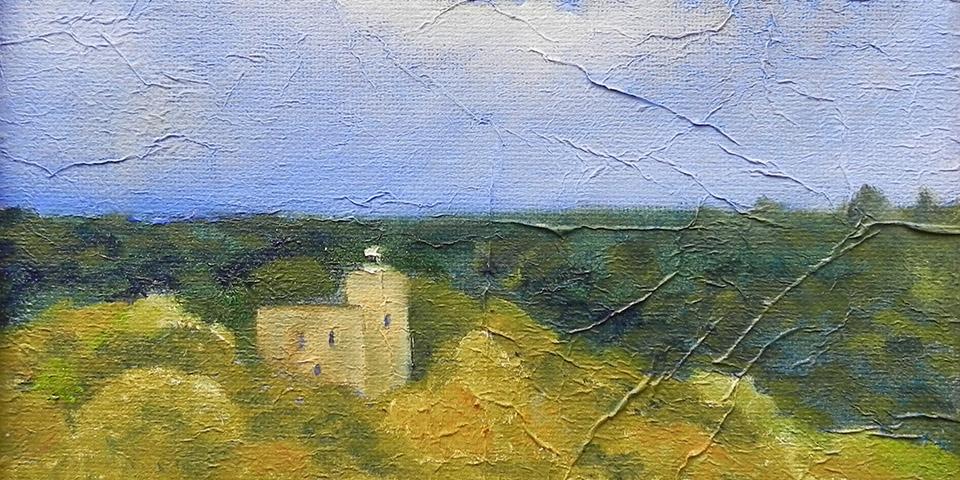 Krukenburg von Ariane Zuber, 20x20 cm